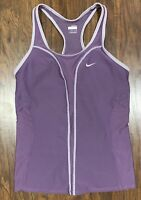 Nike Fit Dry Racerback Athletic Workout Tank Top Women's Small Purple Shirt