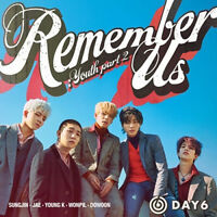 DAY6 [REMEMBER US:YOUTH PART2] 4th Mini Album RANDOM CD+PBook+4Card+Sticker+GIFT