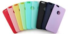 Funda Carcasa Case Silicona Compatible Con Iphone 5 6 7 8 11 X Plus Color Moda