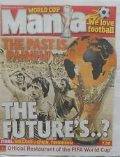 WORLD CUP 2010 : 12-page NEWSPAPER -Holland v Spain-