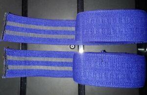 True Iron Brand Powerlifting Heavy Duty Gripper Elbow Wraps (Pair)- 2 Meters NEW