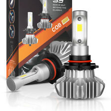 9145 9005 HB3 LED Headlight Bulbs Kit 1300W 195000LM Fog High beam Power 6500K