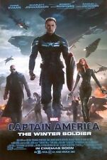 CAPTAIN AMERICA WINTER SOLDIER 2014 Inter Ver E 2 Sided DS 27x40 Movie Poster