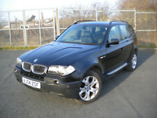 BMW X3 3.0i Sport automatic in black with very good spec and good history