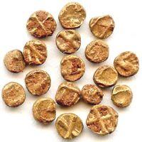 One World's Smallest Gold Coin of Vijayanagar Empire,India Hindu Empire, Tiny