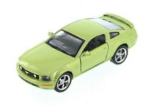 Kinsmart 2006 Ford Mustang GT Diecast metal 1:38 scale model car GREEN
