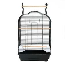 "27"" Bird Cage Pet Supplies Metal Cage with Open Play Top with tow Additional Toy"