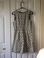 NWT Madewell Cut-Out Floral Dress in Cream/Black, Size 0