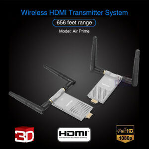 NEW Measy Air Prime 200M Wireless HDMI Video Audio Transmitter 1080P Full HD