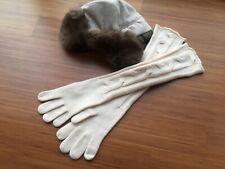 orig. LORO PIANA Courchevel gloves baby cashmere, S-M, NEW