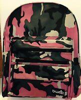 BWAP Lumberjill Pink Camouflage School Backpack NEW