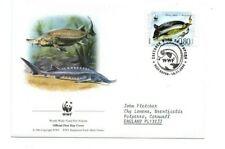 BULGARIA  2004 WWF  FDC  Endangered Species.  Sturgeon   SG4516