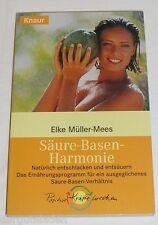 Säure-Basen-Harmonie - Elke Müller Mees | Buch | gebraucht