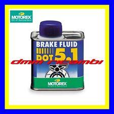 Olio freni Bici MTB MOTOREX Brake Fluid DOT 5.1 fluido impianti frenanti DOT5.1
