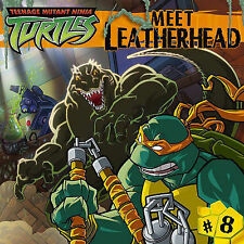 Meet Leatherhead (Teenage Mutant Ninja Turtles, No. 8)-ExLibrary
