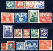 DDR 1951, Jahrgang komplett tadellos postfrisch, Mi. 478,-