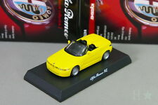 Kyosho 1/64 RZ Yellow Alfa Romeo Miniature car Collection 2 2008