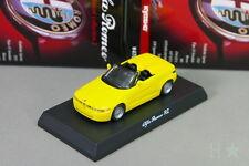 Kyosho 1/64 RZ Yellow Alfa Romeo Miniature car Collection 2 2008