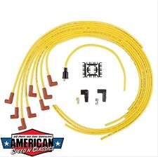 Zündkabel Set Universal Gelb ACCEL 4040 bright yellow 8mm Ford Mopar Chevy Rod