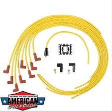 Câble D'AllumAge Set universel jaune Accel 4040 Bright Yellow 8 Mm Ford Mopar CHEVY Rod