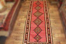 Handgewebter Kelim 140x375 cm Orientteppich Nomadenteppich Nomadenkelim NEU
