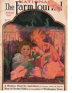 1930 Farm Journal January Fairy Cover