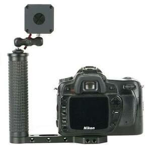"""Dual Handle Grip Transmount with 1/4"""" Universal Screw Compatible"""