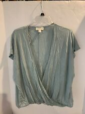 Forever 21+ Blue/grey Surplice Top | Size 1X