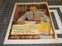 1952 Fatima Cigarettes Ad Noted Sportsman-Engineer  Paul Henrey