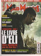 MAD MOVIES N°226 LE LIVRE D ELI / AVATAR / LOVELY BONES / SHADOW /HOUSE OF DEVIL