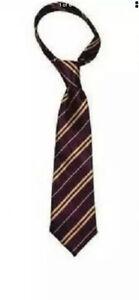 Harry Potter Style Tie Book Week HP Day Gryffindor Wizard Fancy Dress NeckTie