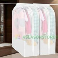 Dustproof Clothes Hanging Garment Suit Coat Cover Protector Wardrobe Storage Bag