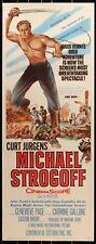 Michael Strogoff (1956) original insert movie poster -  Curt Jurgens - War