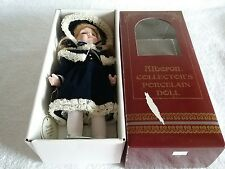 ALBERON COLLECTORS PORCELAIN DOLL NEW IN BOX