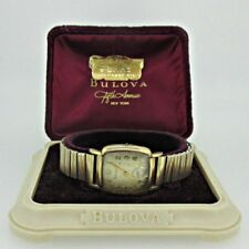 Vintage Bulova M4 11AL 10k Rolled Gold Plated Watch Parts Steampunk with Origina