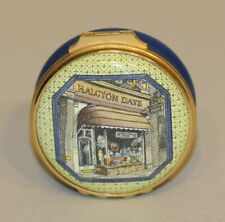 Halcyon Days Enamel Trinket Box Storefront Legend of the Kingfisher