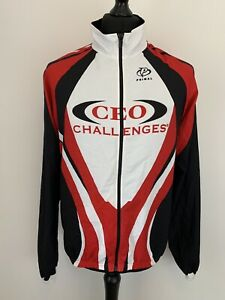 PRIMAL CEO Challenges Cycling Long Sleeve Lightweight Sports Jersey Jacket Top L