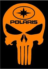 Polaris PUNISHER decal OR Switchback RZR Sportsman Ace Rush RMK Snowmobile ATV