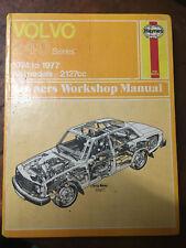 HAYNES Owners Workshop Manual VOLVO 240 Series 1974-1977 All Models