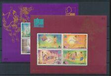 LM43301 Thailand folklore art sheets MNH