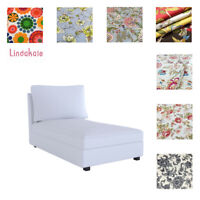 Custom Made Cover Fits IKEA Kivik Chaise Lounge, Chaise Cover, Patterned fabrics