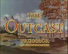 THE OUTCAST, 1954, John Derek, Joan Evans Western in Trucolor: DVD-R Region 2