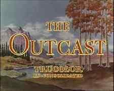 THE OUTCAST, 1954, John Derek, Joan Evans Trucolor Western: DVD-R Region 2  ^