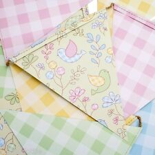 Pretty Paper Bunting Birthday Baby Shower Garden Party Decoration Length 290cm