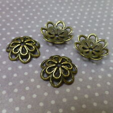 Antique Bronze Bead Cap Pack of 30 pcs