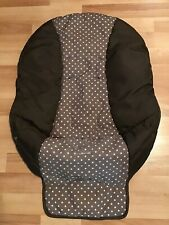 Graco High Chair Cushion Cover Part Replacement Fabric Brown Beige