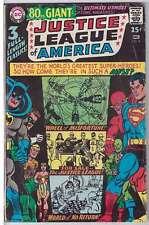 Justice League Of America (Vol 1) # 58 (Bon Plus (G RS003 Dc Comics Original