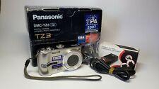 Panasonic Lumix DMC-TZ3 10x Zoom 7.2MP Leica Lens Digital Superzoom Camera Boxed