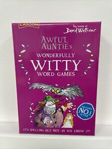 Awful Aunties Wonderfully Witty Word Game By The World of David Walliams NEW