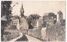 France; Brittany, Old Roscoff RP PPC, 1957 Guincamp PMK to GB